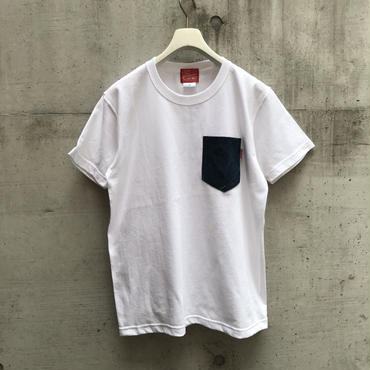 5656WORKINGS/DENIM POCKET's_WHITE