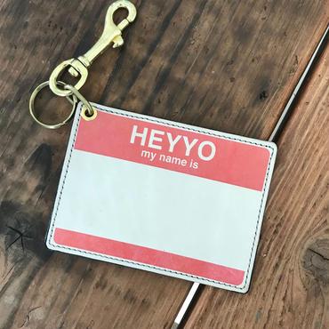 DFA/HEYYO! CARD CASE_RED