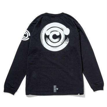 """CHARI&CO"" LS T-Shirts / BLACK"