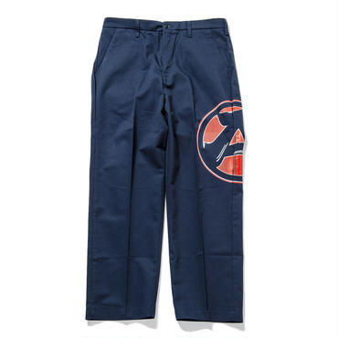 "S8.""The Wolf got hands dirty"" Work Pants (NAVY)"