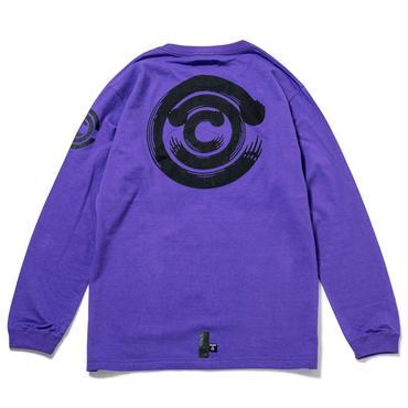 """""""CHARI&CO"""" LS T-Shirts / PURPLE"""