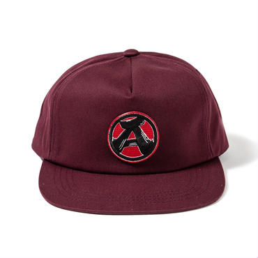 "11.""A"" 5Panel Cap (MAROON)"