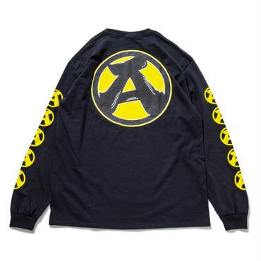 """4.""""A"""" L/S T-Shirts (BLACK)"""