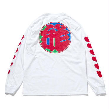 "22.""LOVE"" L/S T-Shirts (WHITE)"