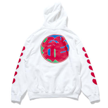 """23.""""LOVE"""" Pullover Hoodie (WHITE)"""