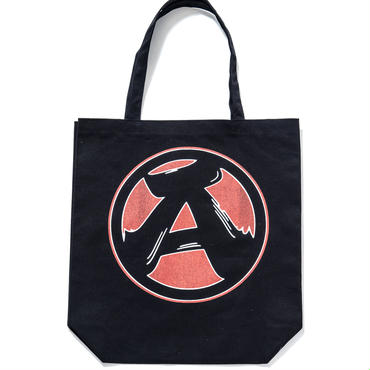 "7.""A"" Tote Bag (BLACK)"