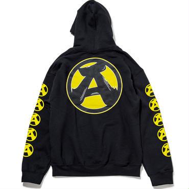 "6.""A"" Pullover Hoodie (BLACK)"