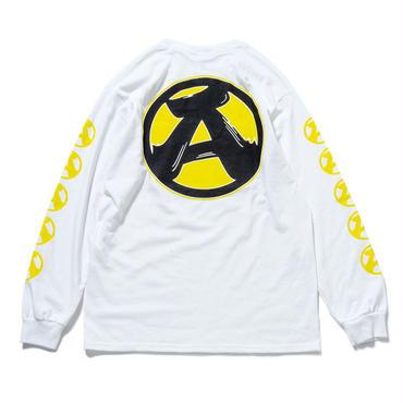 """3.""""A"""" L/S T-Shirts (WHITE)"""
