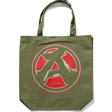 "8.""A"" Tote Bag (OLIVE)"