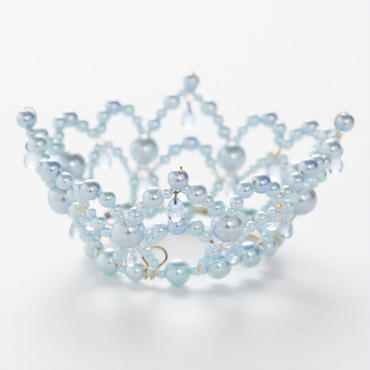 Pale Blue Pearl Crown