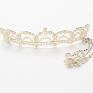 White Tiara(ピアス付き)