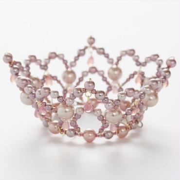 Pink Pearl Crown