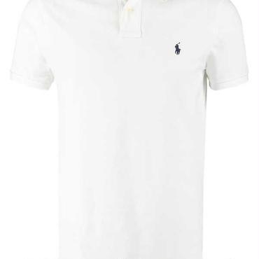 新入荷 定番アイテム★ポロシャツ ポロ半袖 お買い得 大人気 送料無料 白色