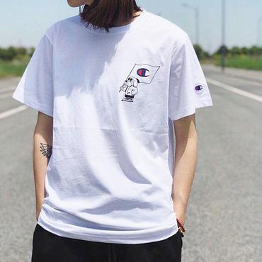 夏大人気 チャンピオンtシャツ カップル 男女 送料無料