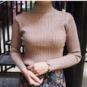 waffle knit