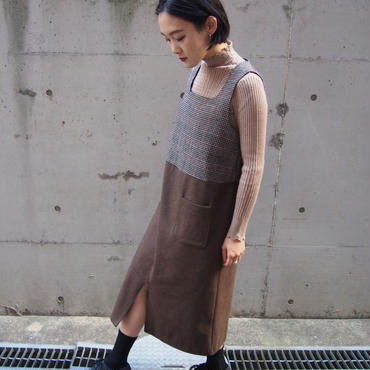 cacao apron dress