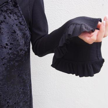 frill sleeve pullover