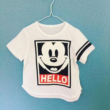 sale‼︎ミッキー☆HELLO Tシャツ
