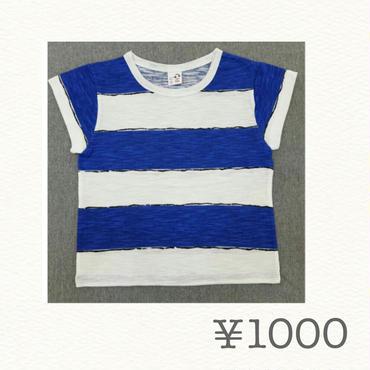 sale!手書き風ボーダーTシャツ