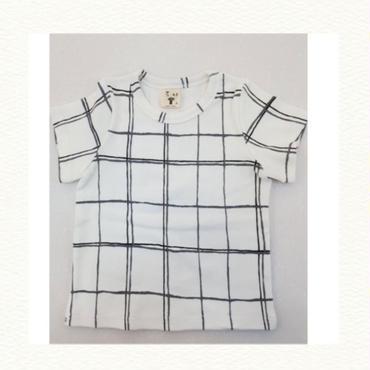 グラフチェックTシャツ