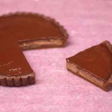 チョコレートクリームタルト【マクロビオティック】