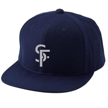 SF cap ネイビー