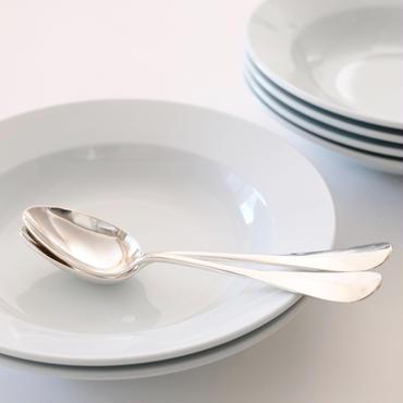 オリジナルスープ皿&レリーフスプーンまたはフォーク (SET1)