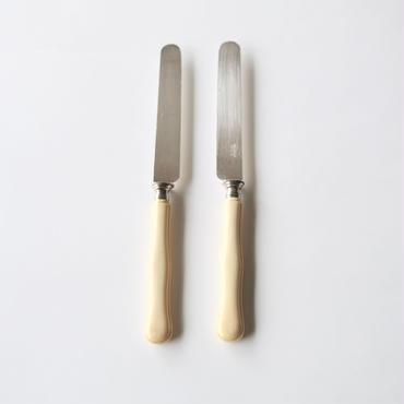アイボリー&シルバーチーズナイフ (CK7) 1本