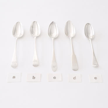[Silver] ティースプーン 刻印入り  (tS18)  1本