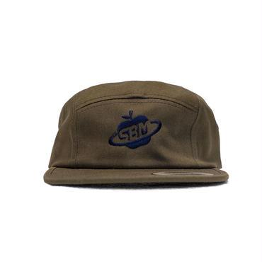 Space Apple Jocky Cap (Khaki / Black)