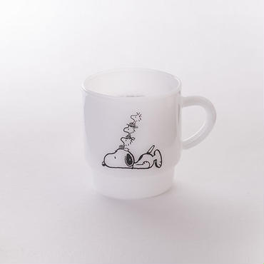 【MILKWARE】 STACKING MUG / SNOOPY 3 [MW-MGP03]