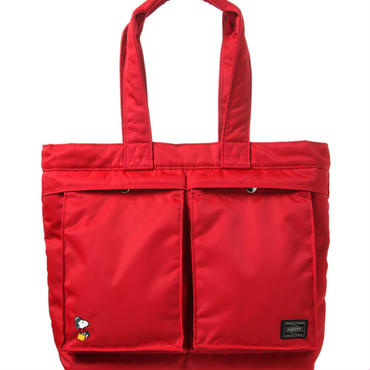 【JOE PORTER】TOTE BAG (M) RED [JP622-06995R]