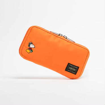 【JOE PORTER】 LONG WALLET / ORANGE [JP-LW2]