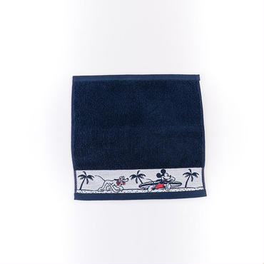 【SURF MICKEY】 HAND TOWEL  NAVY [SM17SS-TW03]