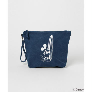 【SURF MICKEY】 POUCH 02 NAVY