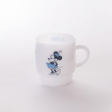 【MILKWARE】 STACKING MUG / MINNIE MOUSE [MW-MGD04]
