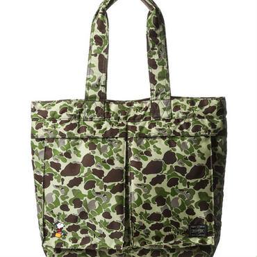 【JOE PORTER】TOTE BAG (M) CAMO [JP622-06995C]