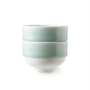 鍋島青磁 煎茶碗(二個)