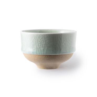 鍋島青瓷  貫入煎茶碗(単品)