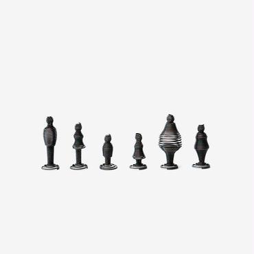 SPRING MAN 1:50|clip (6体セット) / BLACK