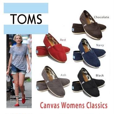 激安国内当日発送★TOMS shoes トムズシューズ レディース スリッポン シューズ/classics