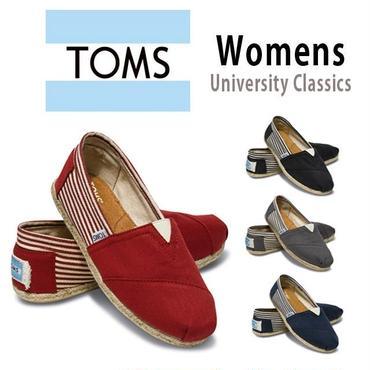 [激安・数量限定]国内当日発送 ☆TOMS shoes トムス トムズシューズ レディース スリッポン シューズ/university-classics[toms-u]