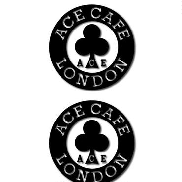 N0015DE/ACE CAFE LONDON デカール サークル 50 (2枚入)