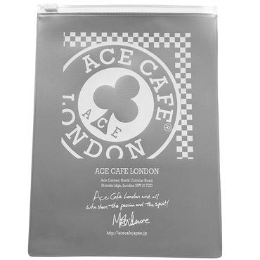 N002MCH / ACE CAFE LONDON 車検証ケース MOTO(シルバー)