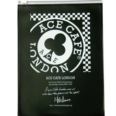 N001MCH / ACE CAFE LONDON 車検証ケース MOTO(ブラック)