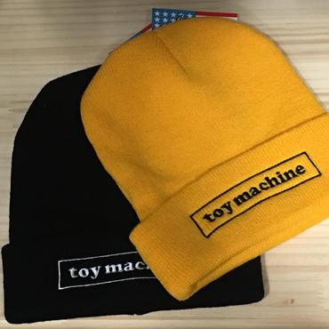 (トイマシーン)toy machine ボックスロゴ ニット帽 (TMF18HW13)