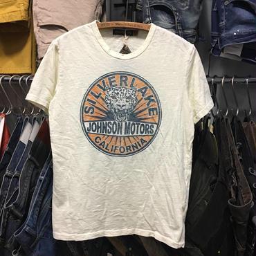 (ジョンソンモータース) Johnson Motors SilverLake シルバーレイクキャット 半袖Tシャツ (MMTSDW54317)