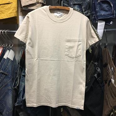 (イーブンフロウ)EVENFLOW LA-CA LINE ラインTシャツ (EF-901-BEI)