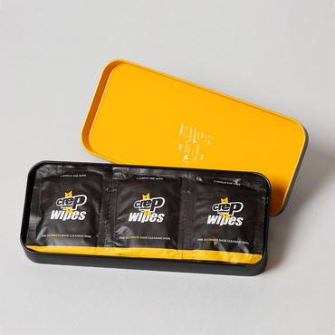 (クレップ プロテクト)Crep Protect WIPES シューズ用合成洗剤浸透シート 12枚入り(シューケア用品・クリーナー)