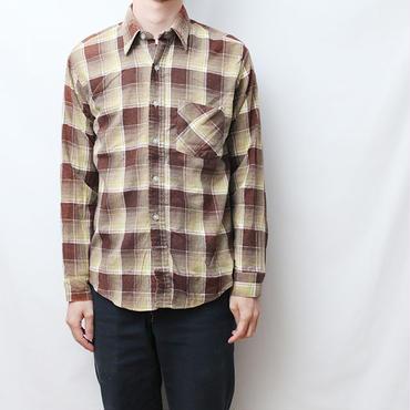 80s シアーズ ライトネル Vintage Flannel Shirt Sears